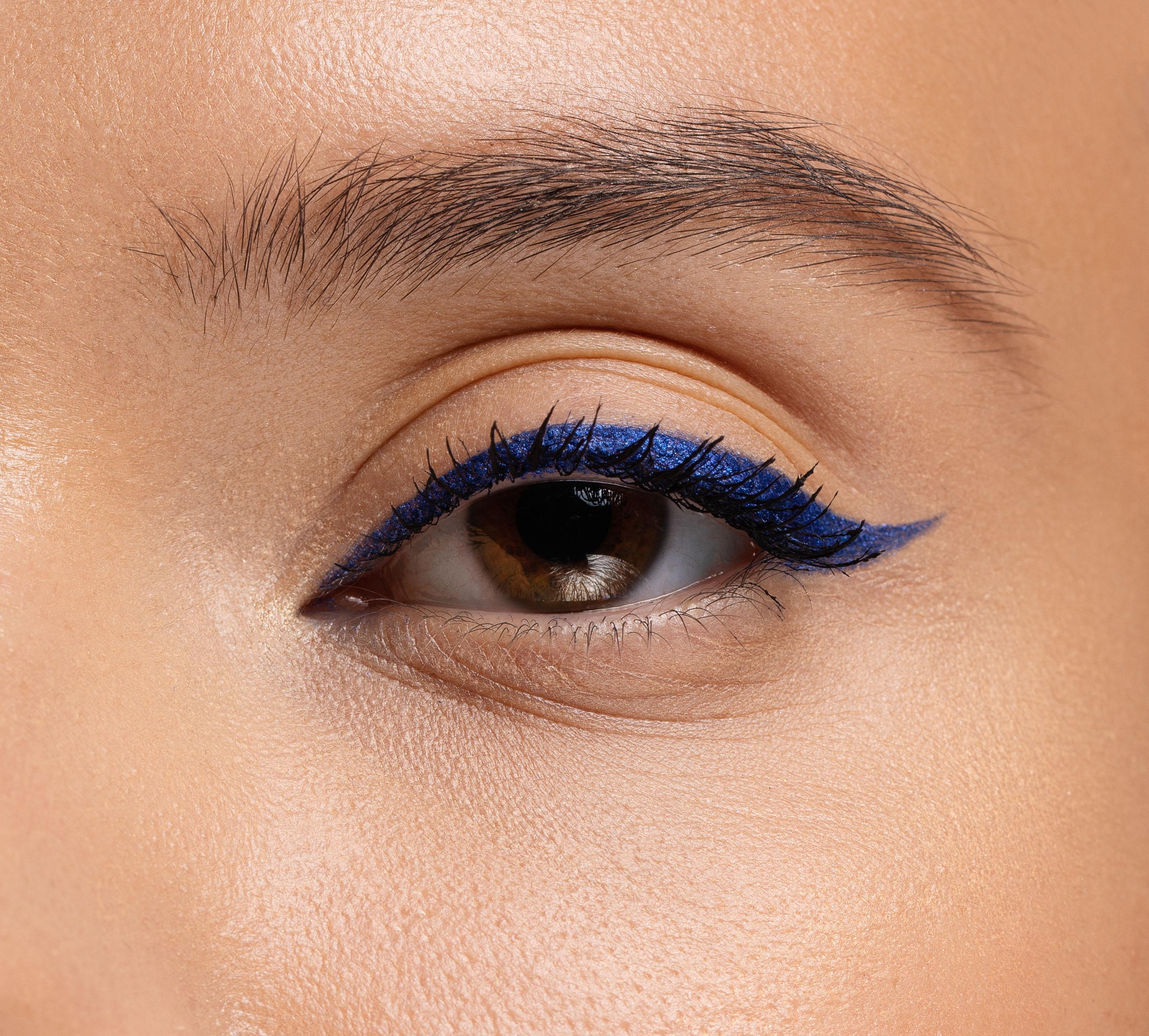 Как подчеркнуть карие глаза