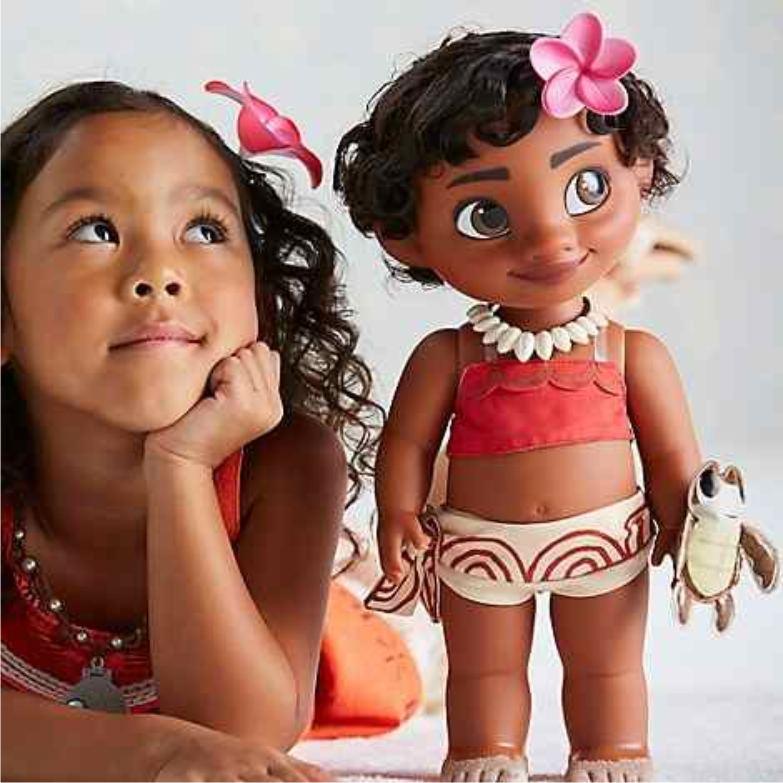 Маленькая Моана от Disney Animators' Collection