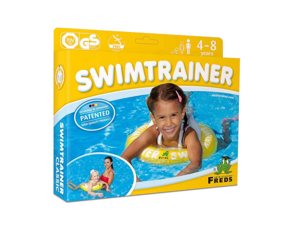 Детский круг Swimtrainer Желтого цвета
