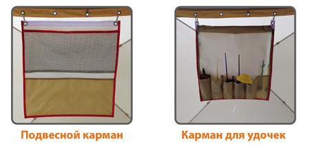Подвесной карман палатки зимней Митек Омуль Куб