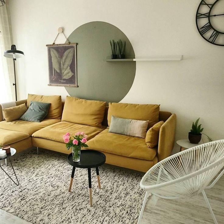 Красивые диваны IKEA