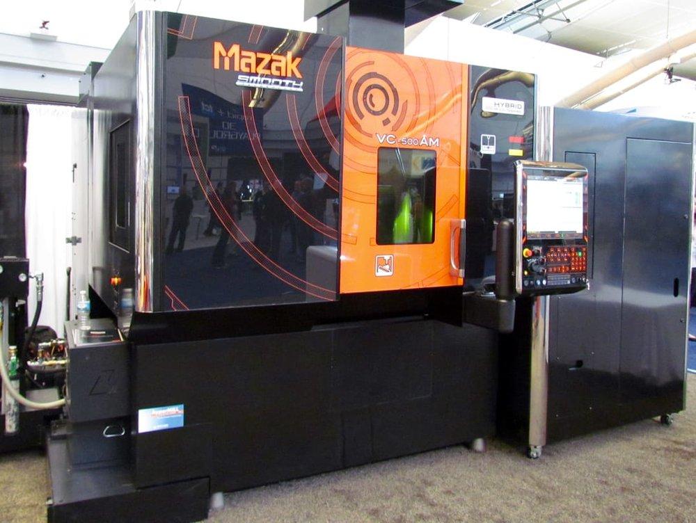 3d принтер по металлу мазак
