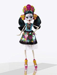Кукла Скелита Коллектор
