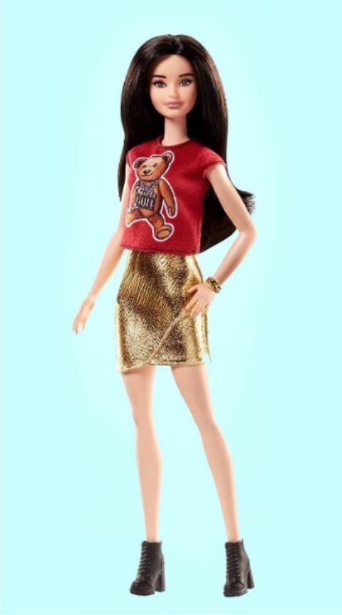 Серия Барби Модница с принтом Мишка Тедди