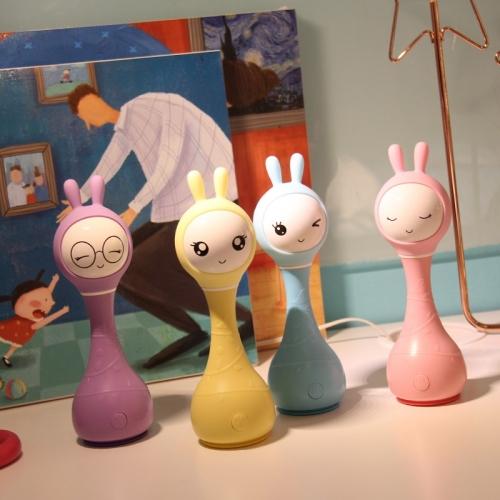 Умные зайчики Alilo R1: фиолетовый, желтый, синий и розовый купить в Мама Любит