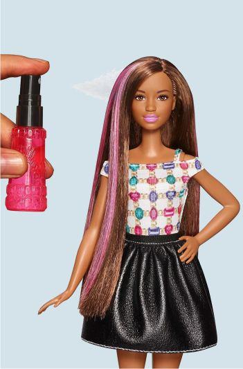 Barbie Брюнетка, Кудри