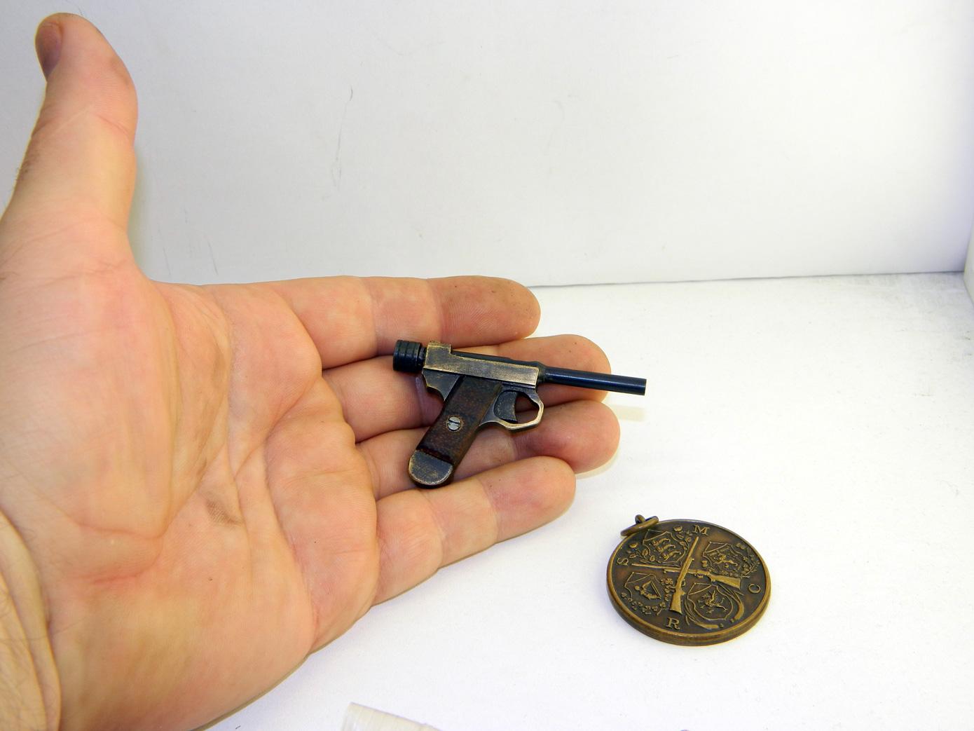миниатюрный пистолет nambu type 14