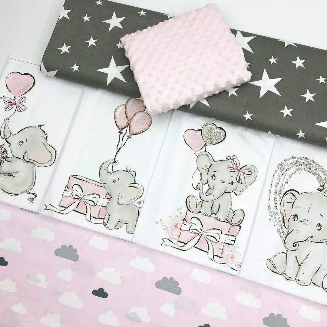 Купить ткани для пошива бортиков в кроватку