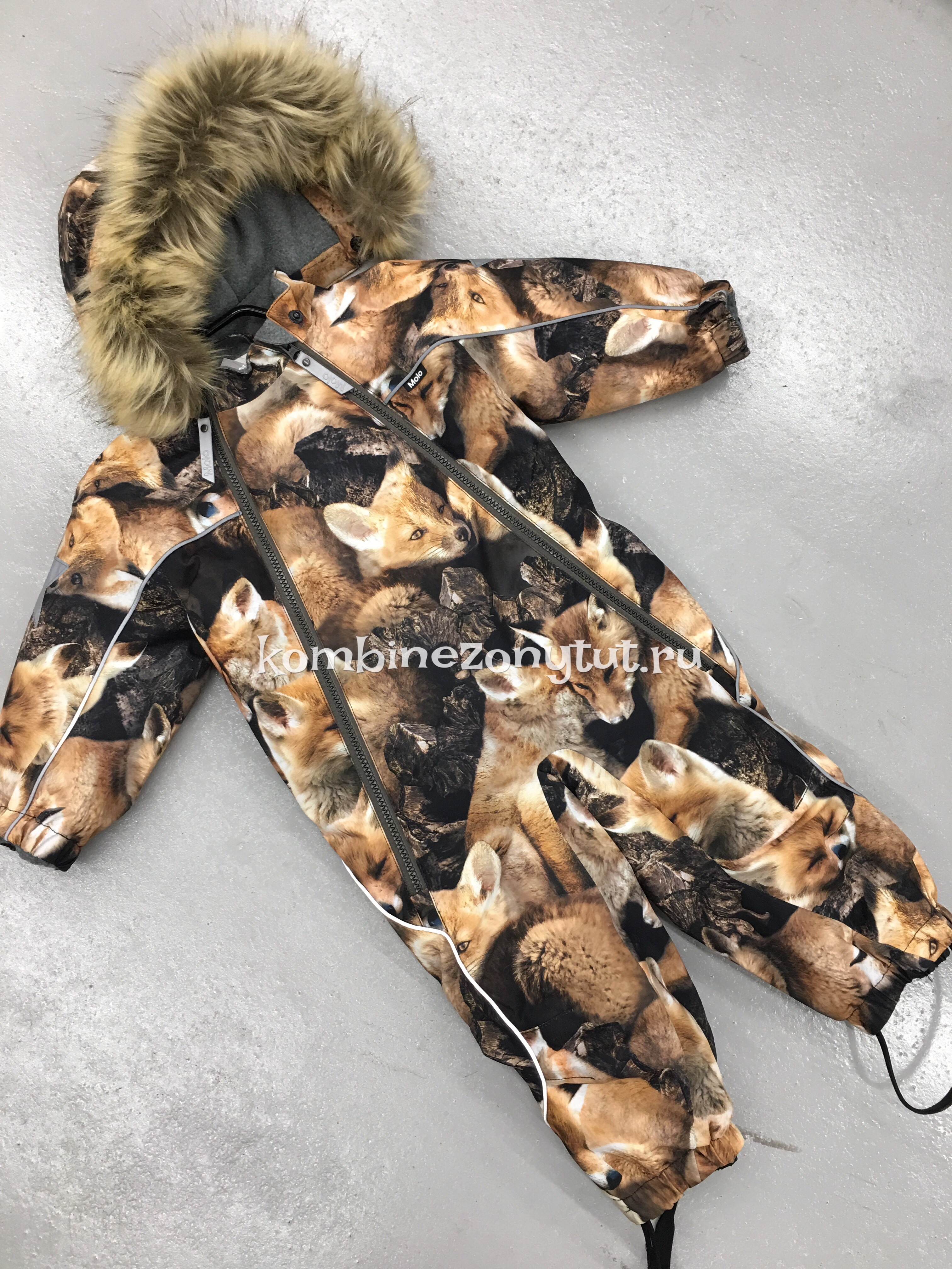 Molo FOX зимний комбинезон купить