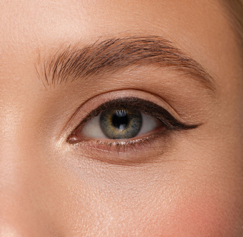 Как красить серые глаза