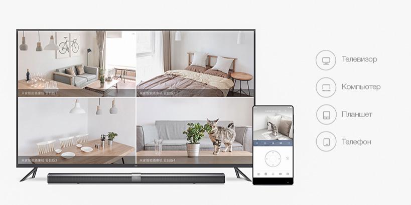 Xiaomi MiJia 360° Home Camera 720p IP-камера видеонаблюдения