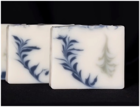 Мыло с нуля - Каплевидная техника