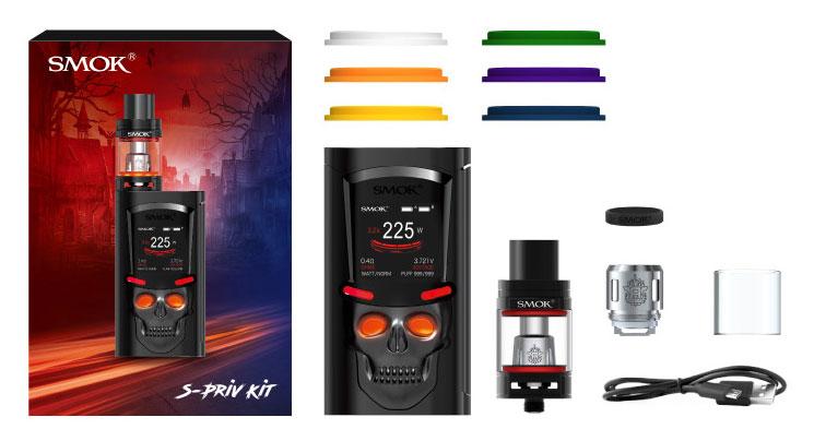 Комплектация SMOK S-Priv + TFV8 Big Baby Light Edition Kit