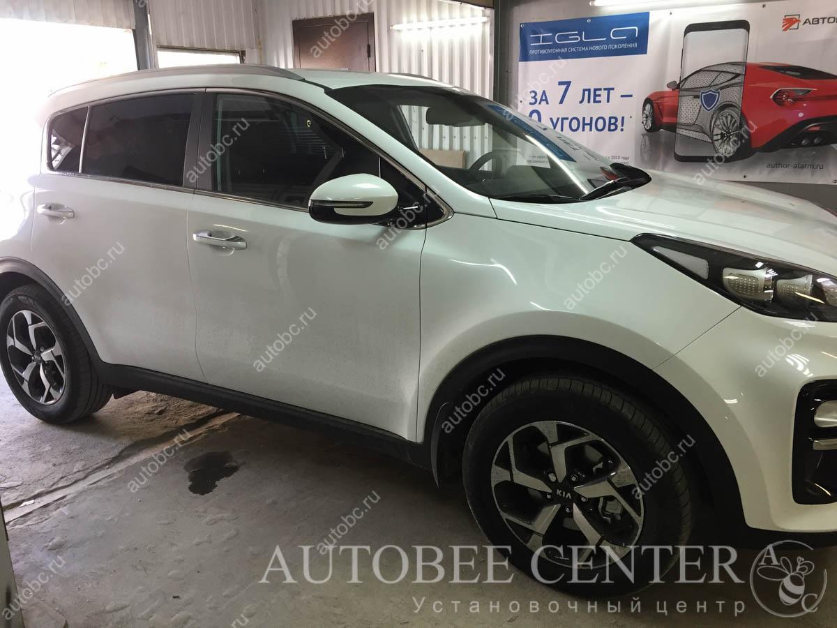 Kia Sportage (Тонировка авто)