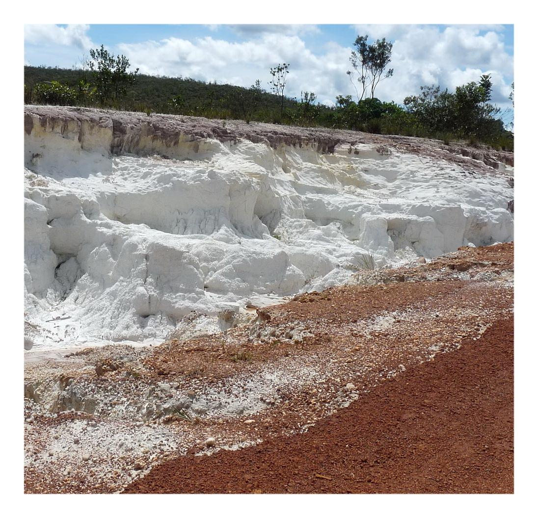 Месторождение каолиновой глины