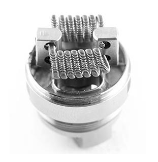 Убедитесь, что катушка V8 RBA расположена в центре вентиляционного отверстия. Затем отрежьте лишние концы катушки.