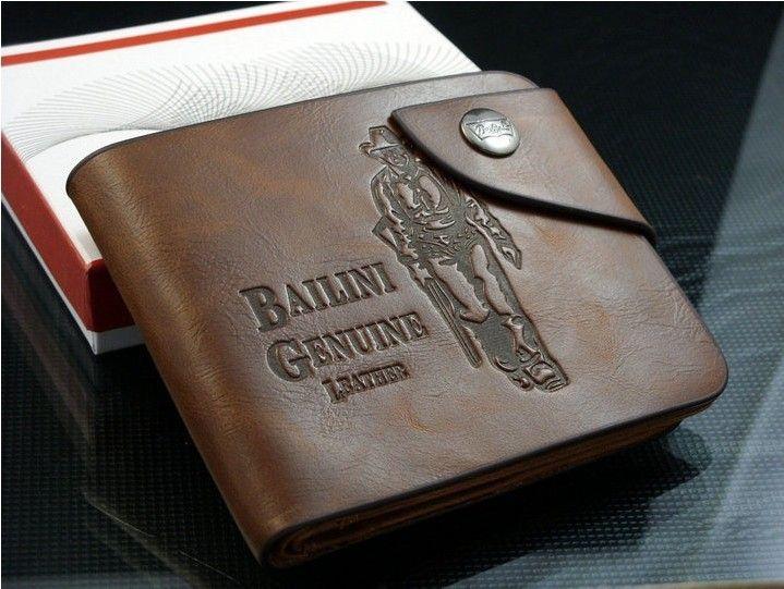 Мужской кошелек Bailini Style - дерзкий стиль
