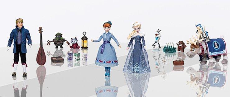 Куклы поющие Эльза и Анна
