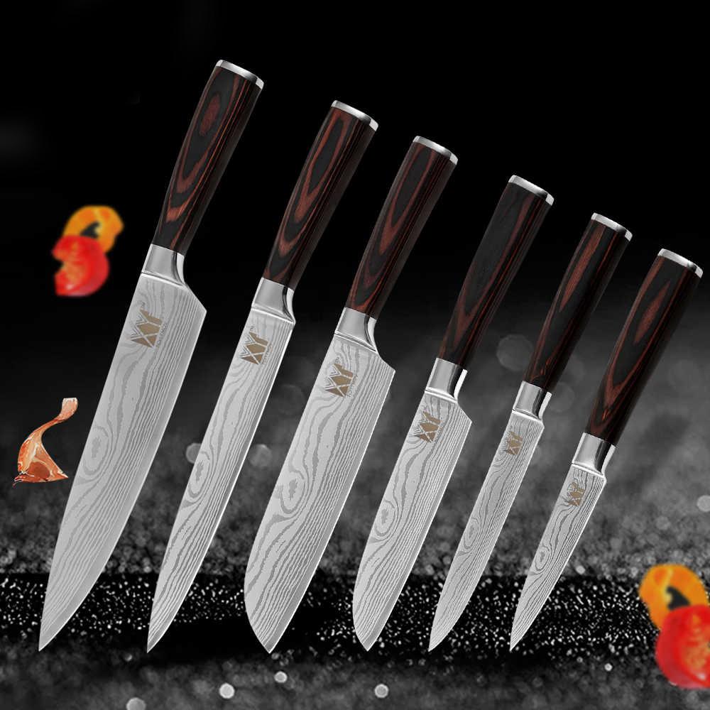 Кухонные ножи разных размеров