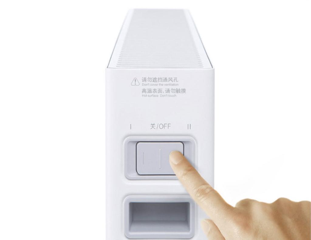Конвекторный обогреватель воздуха Xiaomi Smartmi Chi Meters Heater, White4.jpg