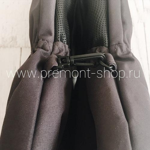 Серые варежки Premont