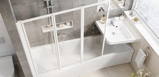 Ограждение для ванной Равак