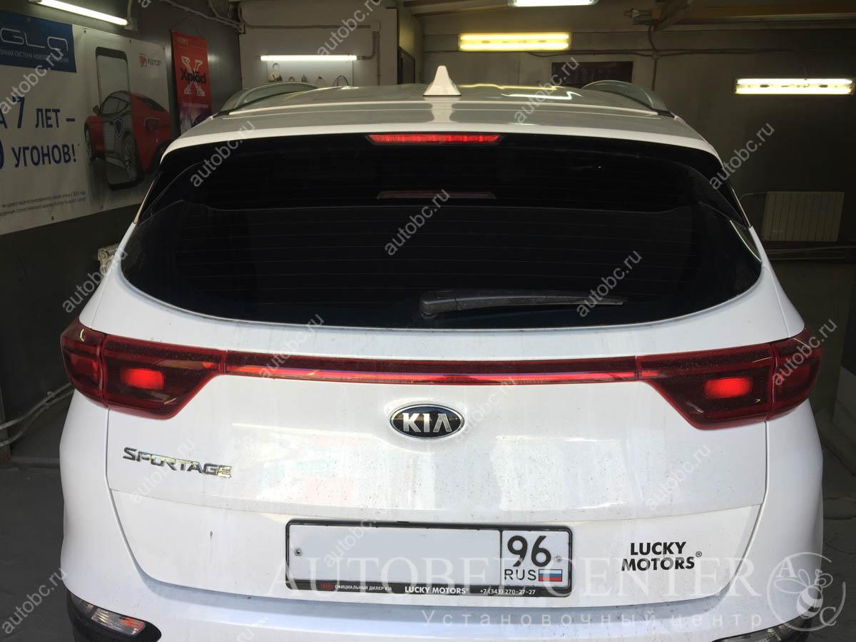 Kia Sportage (Тонировка автомобиля)