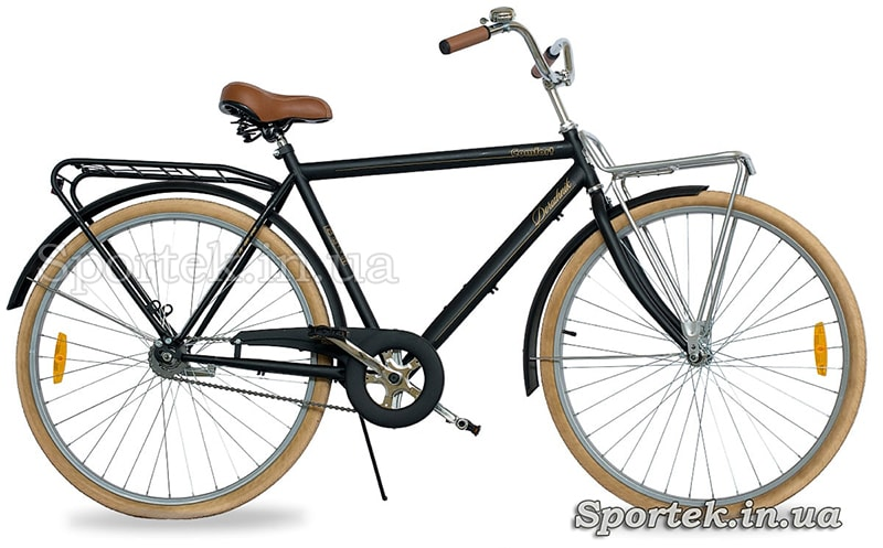 Рама хардтейл на велосипеде Дорожник Комфорт Майл