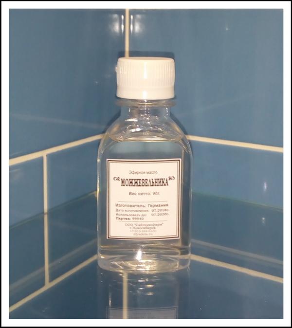 Эфирное масло можжевельника, флакон 90г