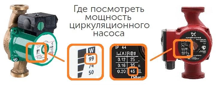 Мощность ИБП для циркуляционного насоса