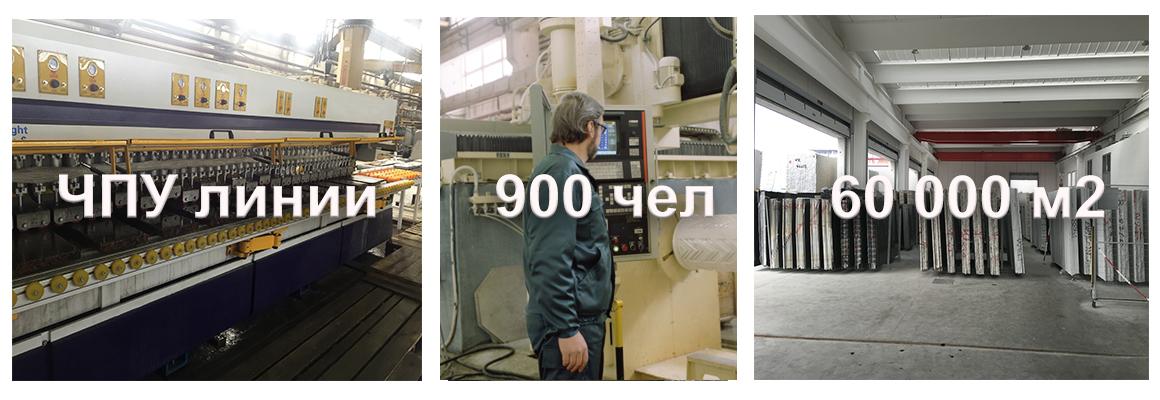 Производство изделий для облицовки из гранита и мрамора