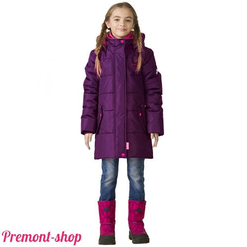 Пальто Premont для девочек Ягодный смузи