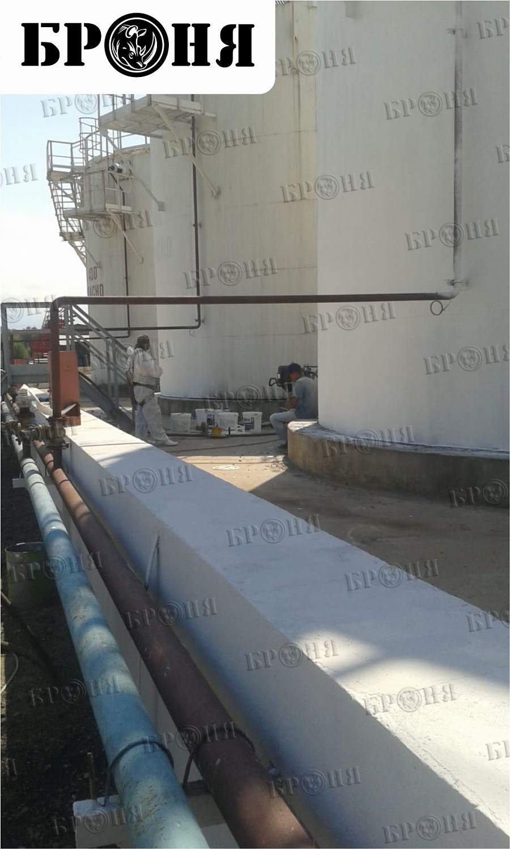 "Казахстан. Теплоизоляция резервуаров на нефтебазе ""Альмерек"""