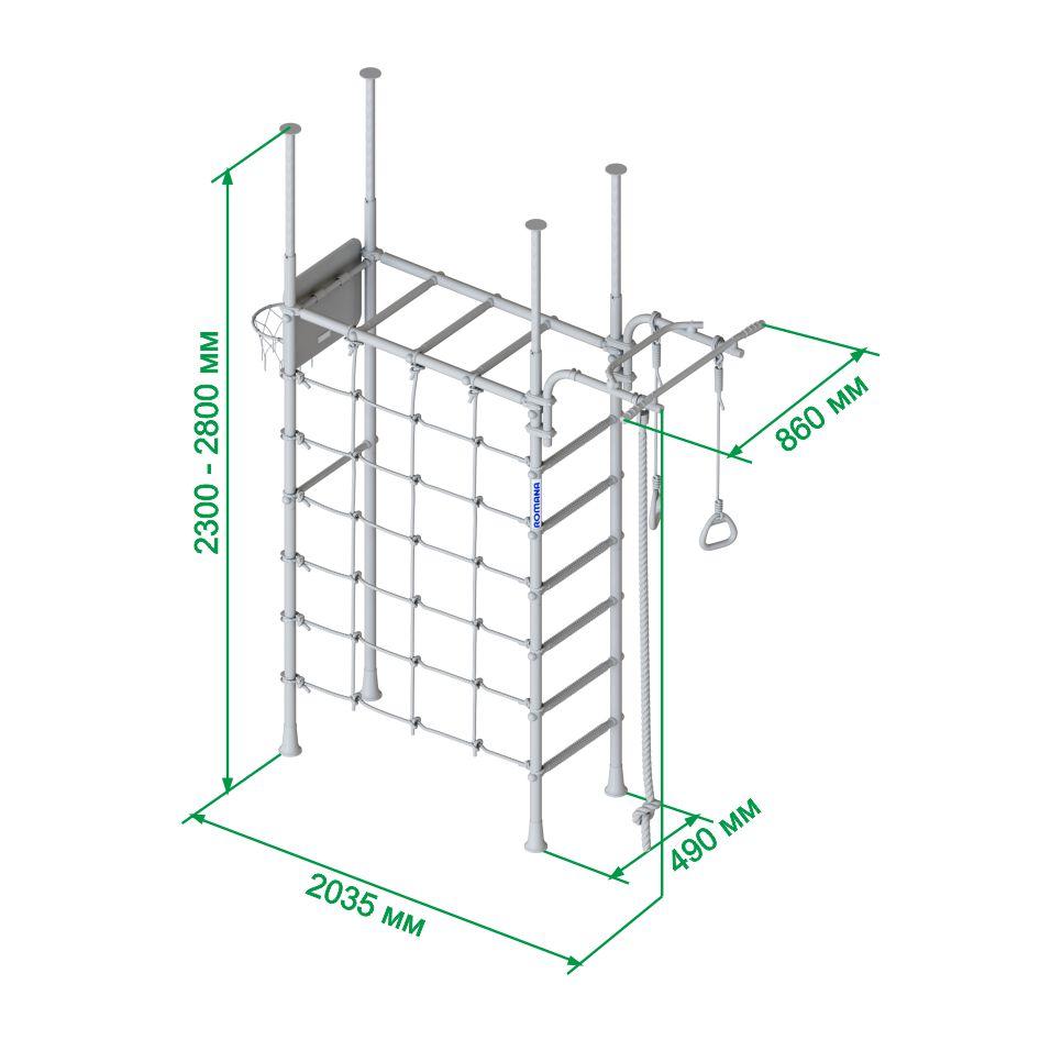 Характеристики шведской стенки Romana R4