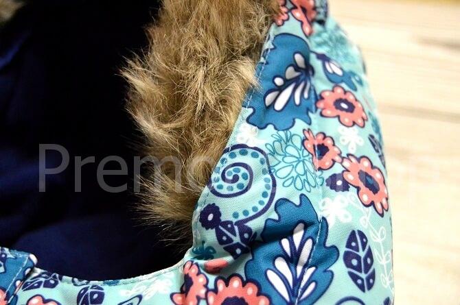 Опушка на костюме Premont Озерная клюква