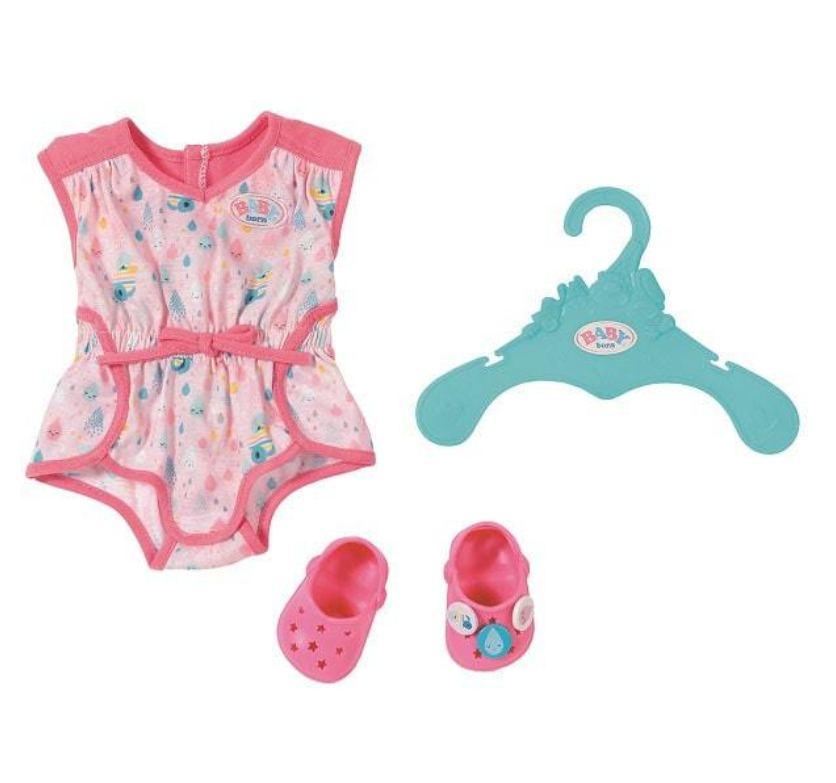 Куколка младенец Baby born (Бэби Борн) - Пижамка с обувью