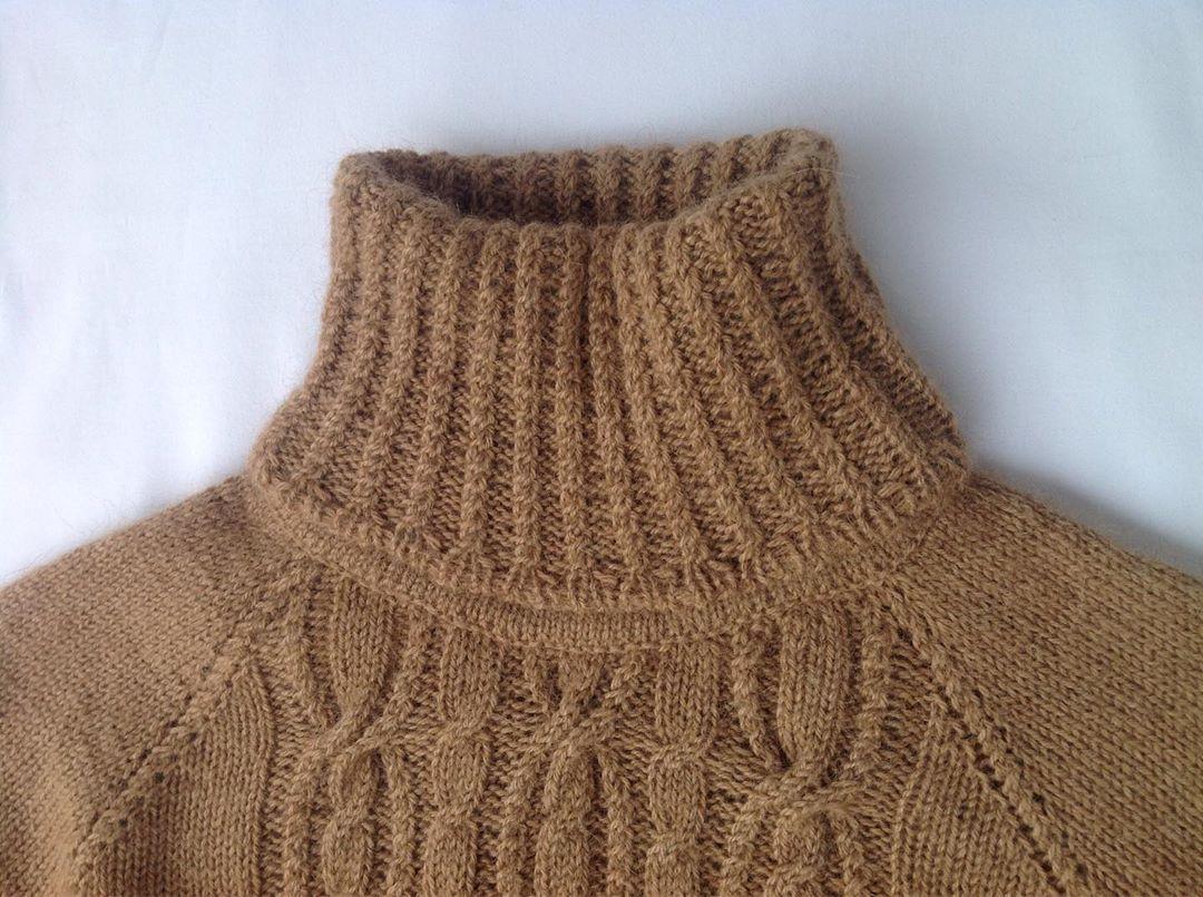 свитер из пуха верблюжонка сарлаг
