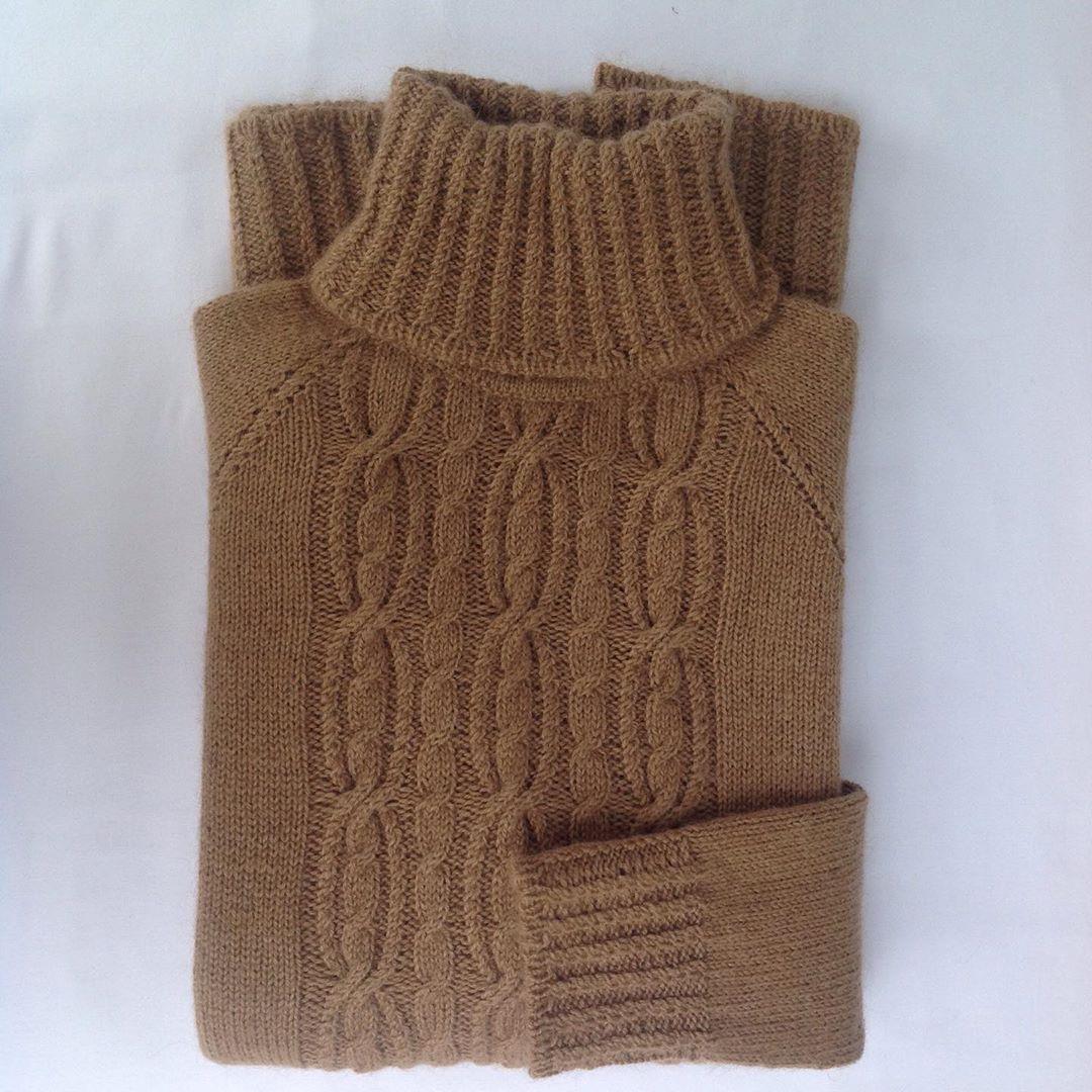свитер из пуха верблюжонка саглар