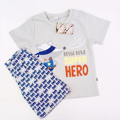 Детская пижама Bossa Nova для мальчиков Super Hero купить в интернет-магазине Мама Любит!
