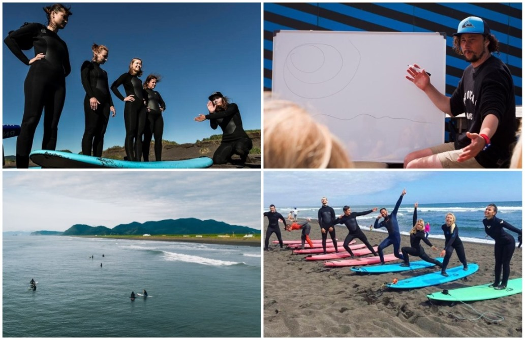русская школа серфинга на Камчатке
