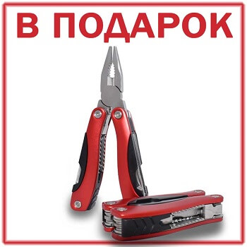 При покупке Пускового устройства на 24V для автомобиля дарим в подарок мультитул