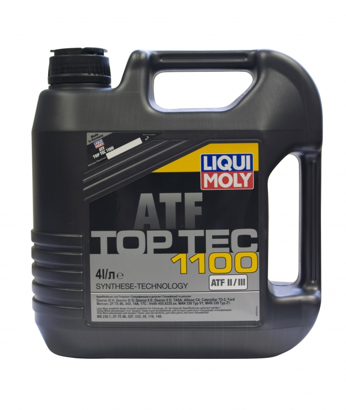 ATF ликви моли в 4-х литровой таре
