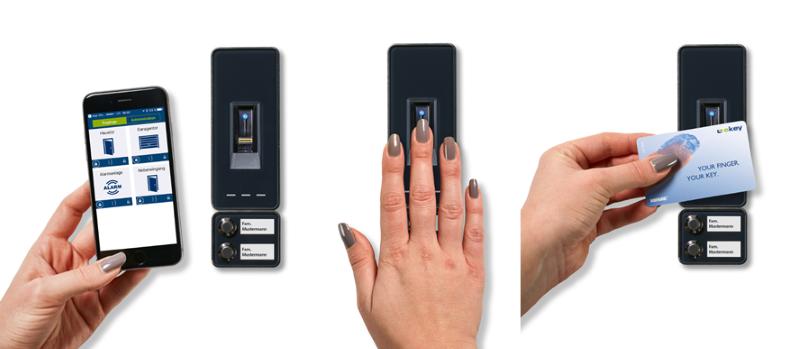 системы доступа по отпечаткам пальцев
