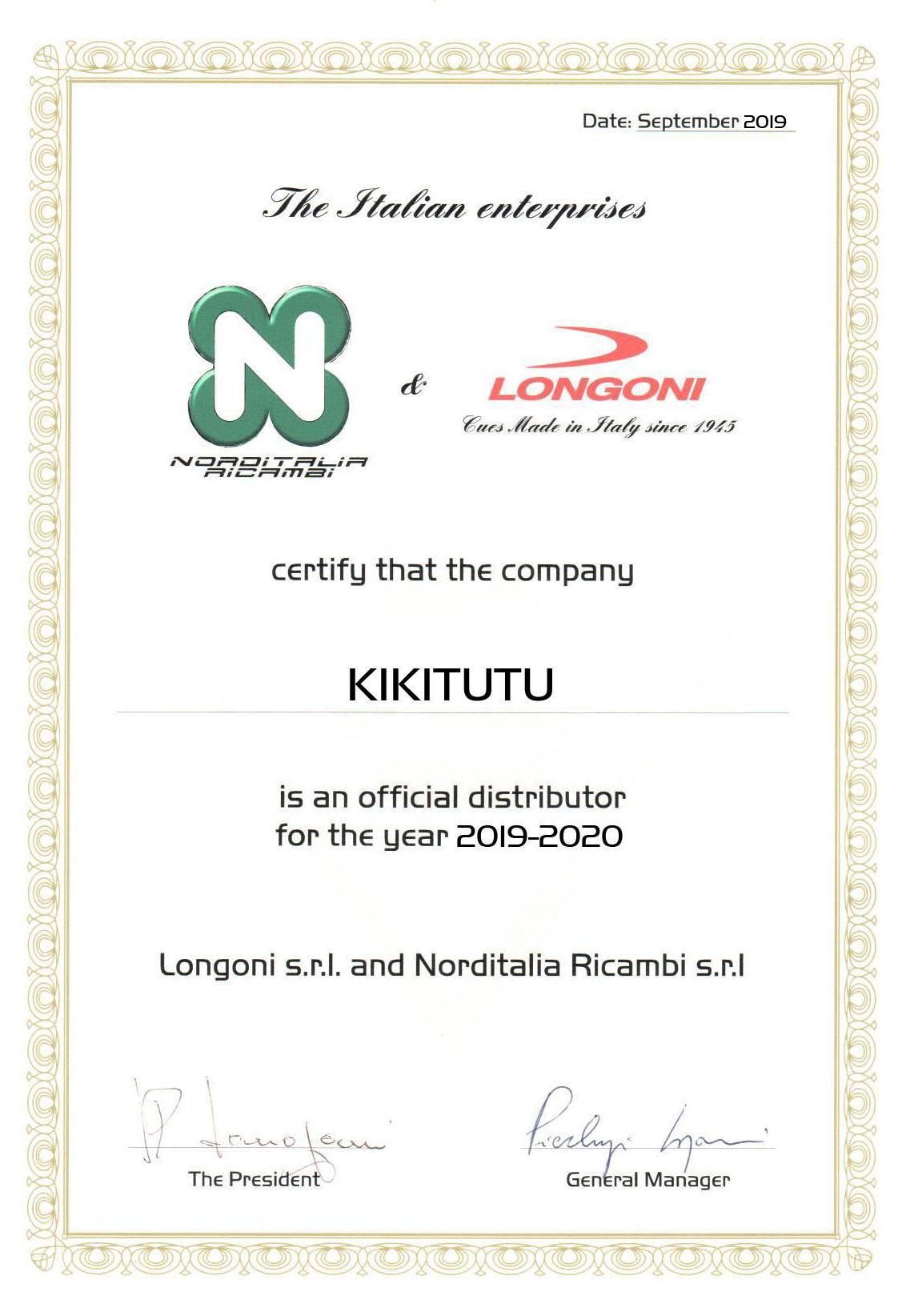 Официальный дистрибьютор Longoni, NordItalia