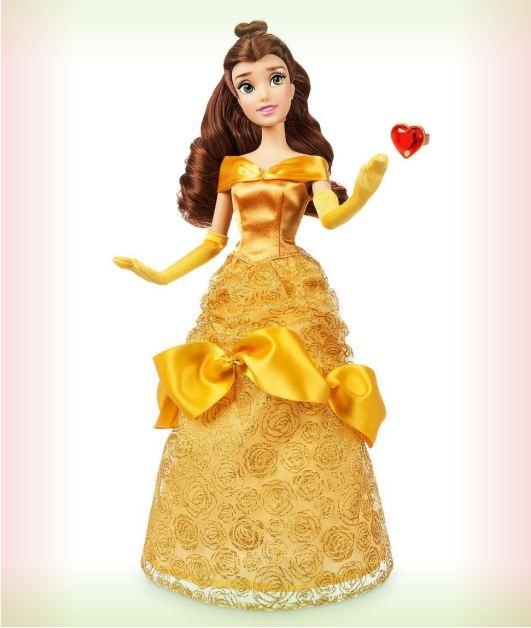 Кукла Белль из Принцессы Диснея с кольцом
