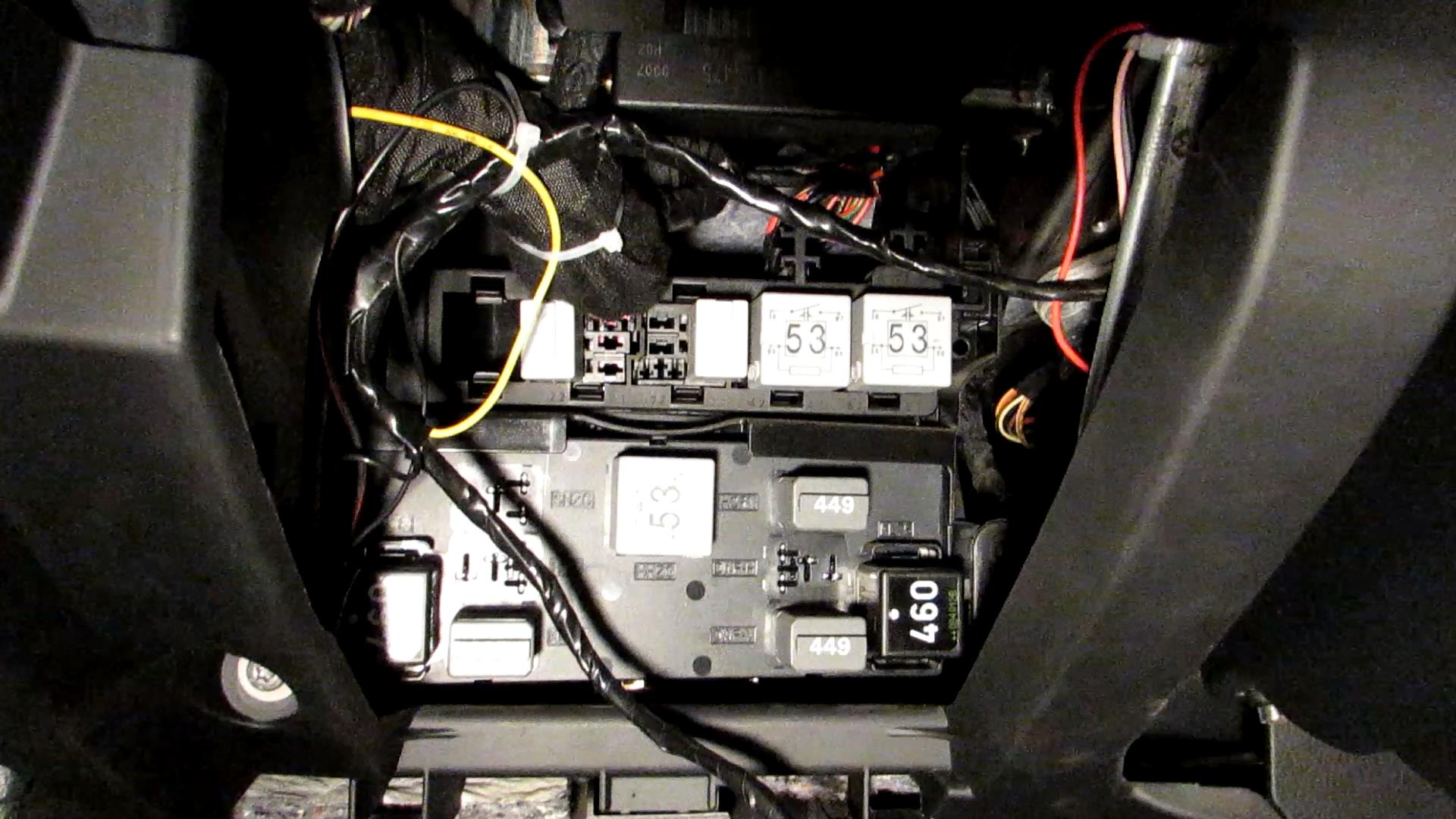 Отчет по дооснащению VW Passat B6 GSM-модулем ALTOX WBUS-4 21