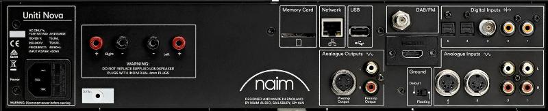Сетевой плеер / усилитель Naim Uniti Nova