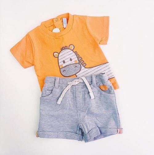 Детский комплект Losan футболка и шорты Little Zebra купить в интернет-магазине Мама Любит!