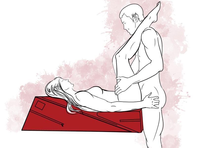 Подушка для секса Liberator Combo wage + ramp поза 3