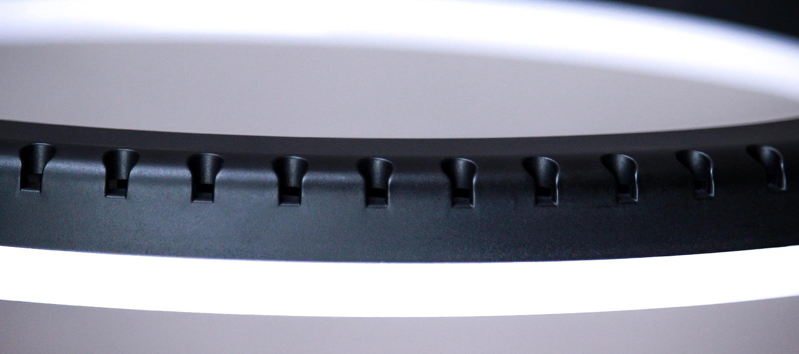 яркая кольцевая лампа 45 см для профессиональной студийной сьемки корпус